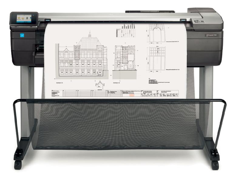 Hp Designjet T830 Multifunction Printer Incredible New