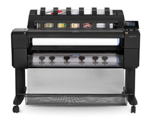 HP Designjet T1530 Two Roll Printer